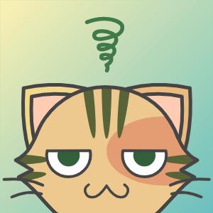 化け猫アイコンメーカーで作ったSNSアイコン