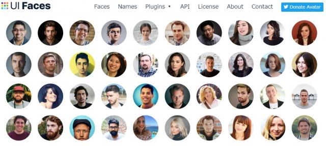 UI Faces|外国人の顔をSNSアイコンに設定する方法